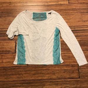 American Eagle Top Outfitters Lace Panel